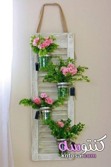 ديكورات للمنزل بافكار بسيطة فى اقل من 5 دقائق افكار لتغيير ديكور المنزل بالصور تزيين صالة البيت Kntosa Spring Decor Old Wooden Doors Diy Home Decor Projects