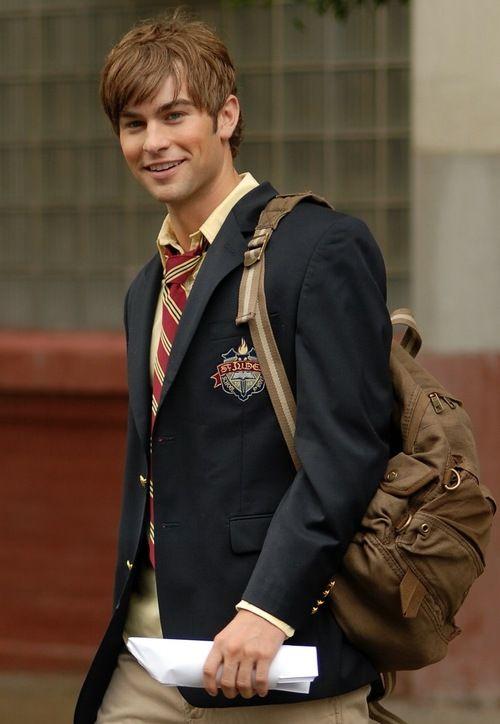 properprep: Chace Crawford (Nate Archibald)