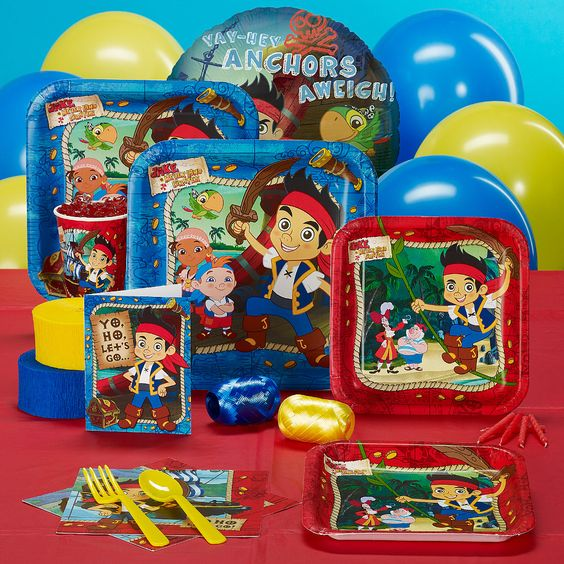 disney jake and the never land pirates standard party pack [for 16]