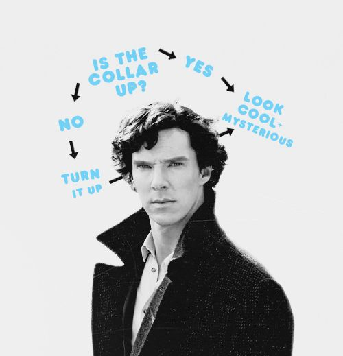 Sherlock's primary thought process.