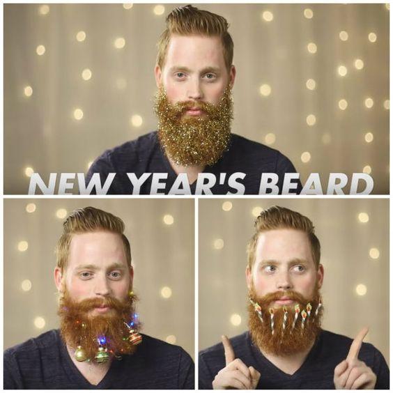 3 Festive Holiday Beards