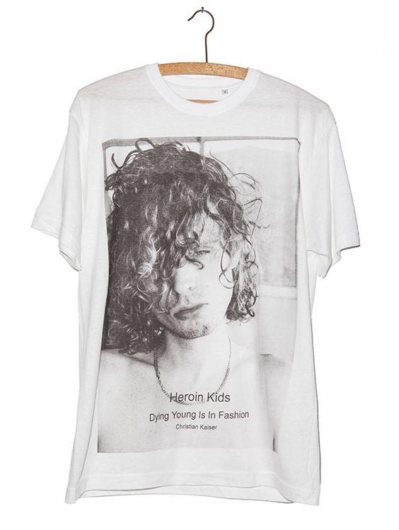 "T-Shirt ""Chris""-Heroin Kids Online Store"