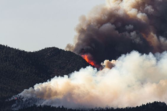 Flare Up    The Corral fire erupted at 4:15PM on Monday, June 25th 2012, just northwest of Helena, Montana.
