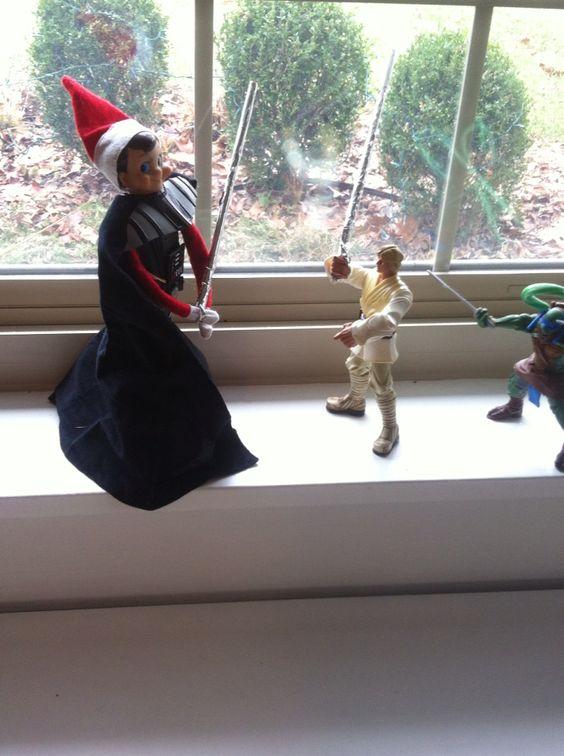 Star Wars Elf on the Shelf