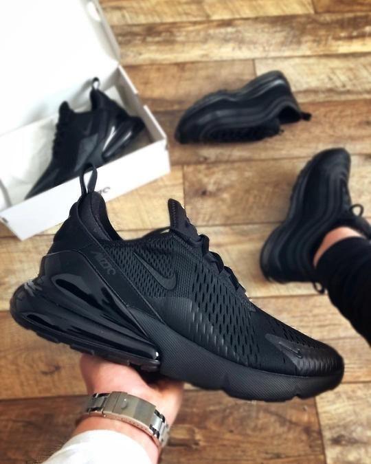 deshonesto Malentendido deseable  Nike Air Max 270 Sneakers | Nike shoes air max, Nike shoes women, Black nike  shoes
