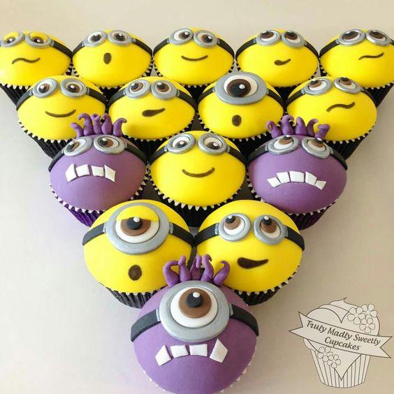 Minion cupcakes                                                                                                                                                                                 More