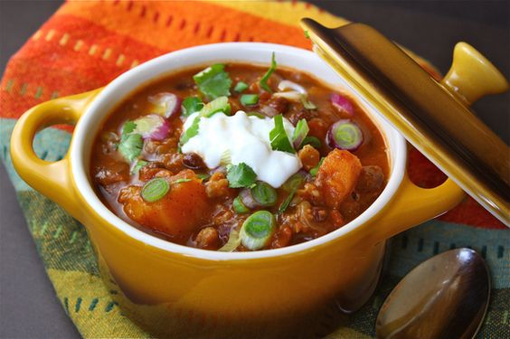 black bean stew with butternut squash | Favorite Recipes | Pinterest ...