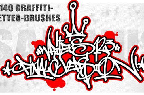 graffiti brushes...
