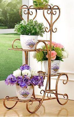 Resultado de imagen para adornos de fierro para jardin ...