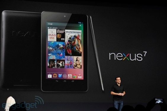 Google Announces Nexus 7 Tablet With Android 4.1 Jelly bean by Asus