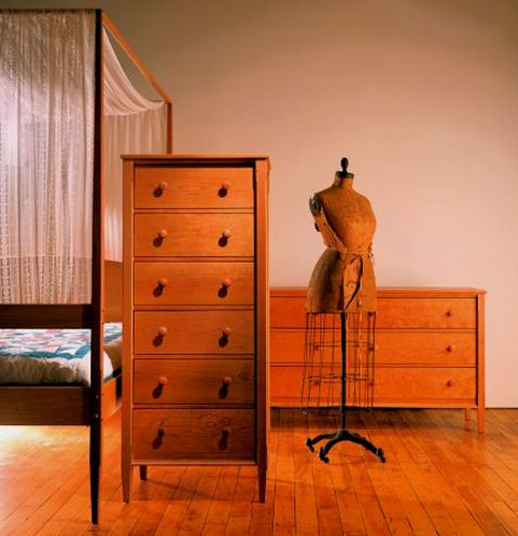 Solid Cherry Wood Bedroom Furniture For Sale  Handcrafted Custom Made Wooden  Bedroom Furniture  Heartwood