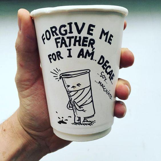 Los vasos de café de Airborne Ape