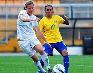 Blog Esportivo do Suíço:  Seleção feminina perde para Nova Zelândia e revanche pode vir na terça-feira