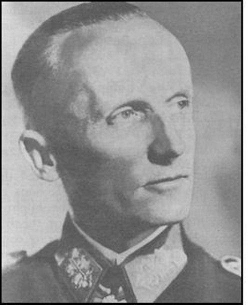 Cinquieme Commandant De L Armee De Panzer Le General Hasso Von