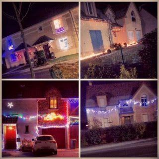 """Lo vecinos adornan las casa, pero en París lo hacen mucho mas... en el blog """"Los Mundos de SitaJimenez"""": El espíritu de la Navidad golpea a Sita"""