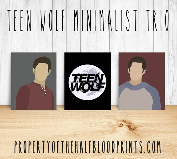 THIS LISTING IS FOR A SET OF 3 8X10 PRINTS The Minimalist Collection by PropertyOfTheHalfBloodPrints is a unique and awesome way to show off all of your favorite fandoms! They are sized at 8x10 inches