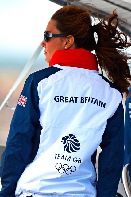 Kate ... Team GB Pride