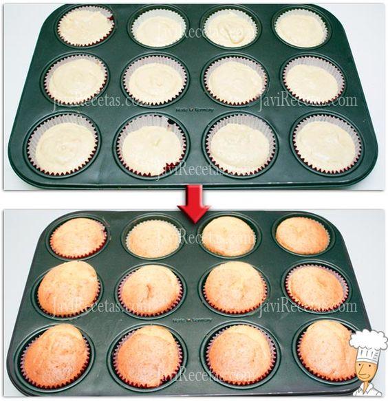 Como hornear los pastelitos