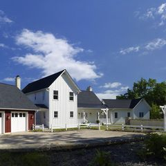 traditional exterior by Barnes Vanze Architects, Inc. #farmhousemodern