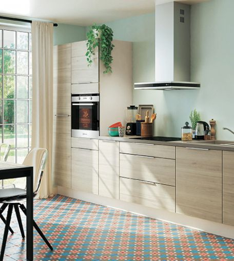 20 Interessant Images De Cuisines Equipees Contemporary Kitchen Simple Kitchen Contemporary Style Kitchen
