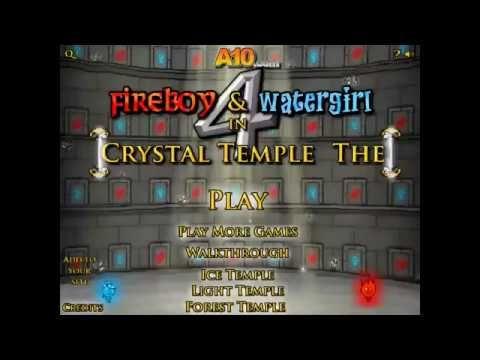 Fireboy And Watergirl 4 Menino Fogo E A Menina Agua Click