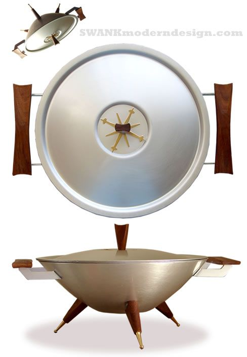 Mid-Century UFO serving dish