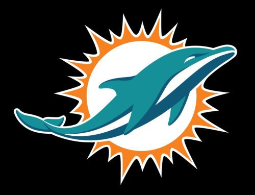 The Iconic Color Scheme Miami Dolphins Logo Miami Dolphins Dolphins