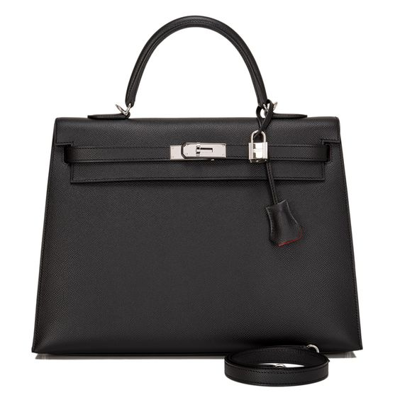 handbag with h on it - Hermes HSS Black Epsom Kelly 35cm - This Hermes HSS Black Kelly ...