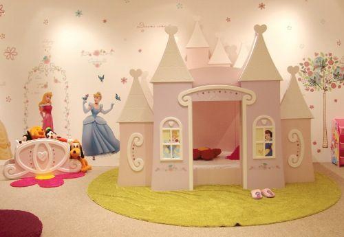 Dormitorios de princesas disney dormitorios fotos de for Decoracion de recamaras