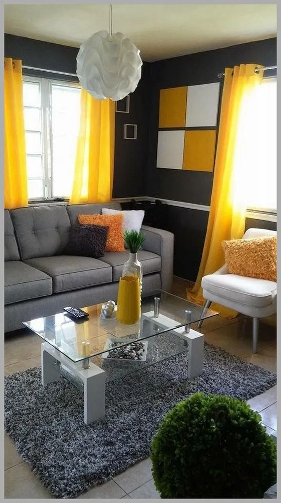 25 Modern Eclectic Decor For Ending Your Home Improvement Home Decoration Experts Living Room Decor Apartment Yellow Living Room Yellow Decor Living Room