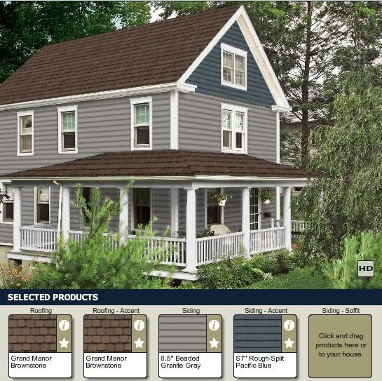 Playing With Siding Colors At Exterior Colors