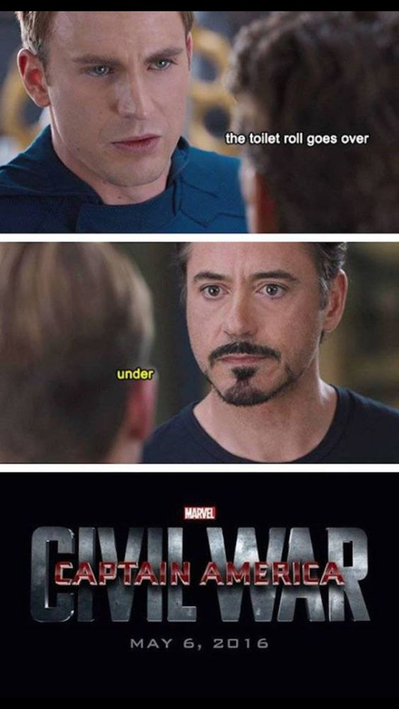 Captain America humor