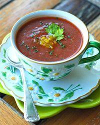 Andrew Zimmerman's Gazpacho Recipe