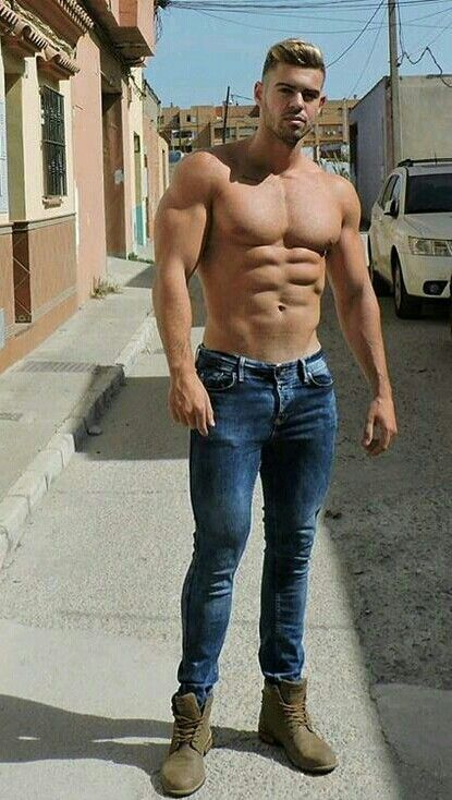 Skinny jeans for muscular guys