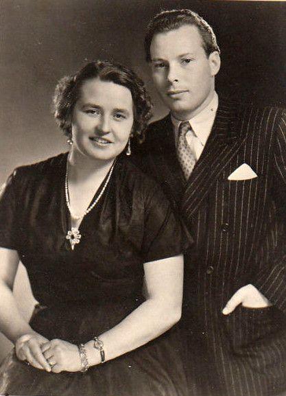 Emich Fürst zu Leiningen et duchesse Eilika d'Oldenbourg à l'époque de leur mariage: