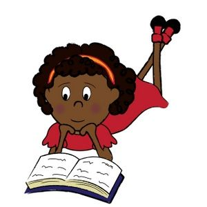 Image result for free clipart images african american children reading