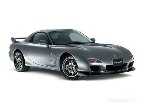 Mazda RX-7... the RX-8 never really compared.