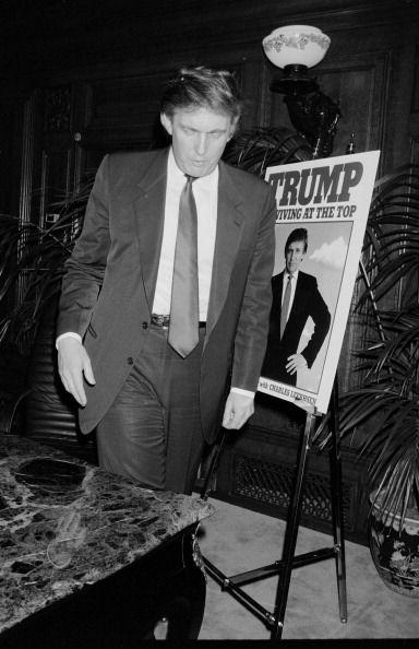 Donald Trump at Book Signing