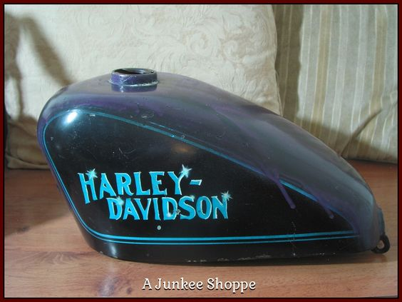 HARLEY DAVIDSON 1952 Thru 1970 Sportster Motorcycle Center Fill Gas Tank Used Junk 965  http://ajunkeeshoppe.blogspot.com/