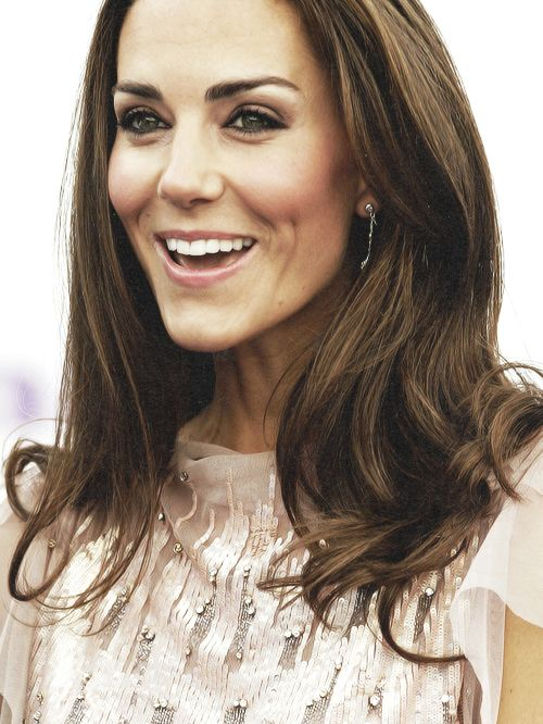 Kate Middleton Wedding Eye Makeup : Perfect wedding makeup for brunettes with green or hazel ...