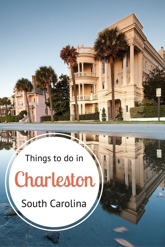 Insiders Guide - what to do in Charleston, South Carolina. Great tips here!
