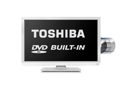 Toshiba 24D1334B/24D1334B2 24-inch Widescreen 1080p Full HD LED TV with Built-In DVD Player: Amazon.co.uk: TV