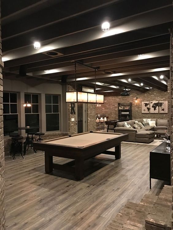 40 Insane Clever Basement Decoration Ideas On A Budget Rustic
