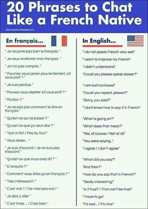 2o Phrases To Chat Like A French Native French Language Lessons