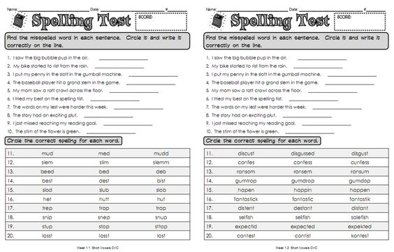 love this idea for differentiated spelling