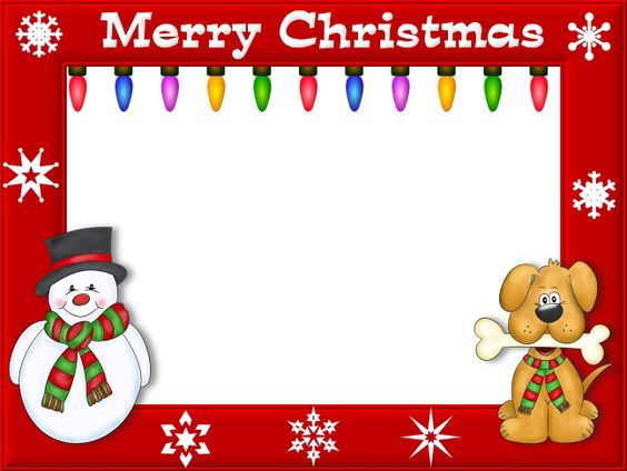 Free Valentine's Day Graphics | Merry christmas, Picture borders ...