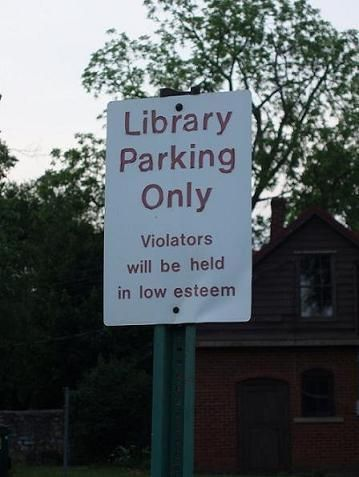 16 Hilarious Signs That Prove Libraries Are the Greatest: