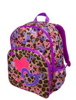 Cheetah Rock Backpack | Raquel's 1st yr of school | Pinterest ...