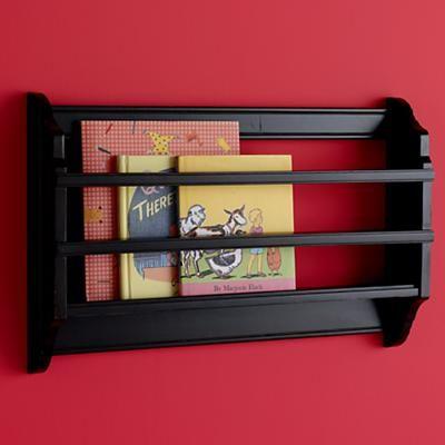 book + magazine display shelf