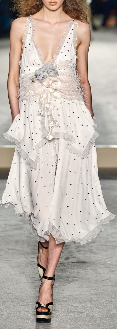 Philosophy Di Lorenzo Serafini Fall 2020 Fashion Gowns Slip Dress